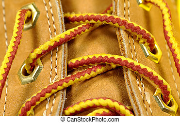 Boot Laces 2 - Photo of Boot Laces.
