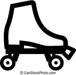 Boot roller skate