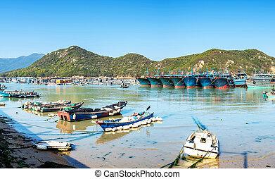 bootjes, haven, visserij