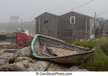 bootjes, peggys, inham, visserij