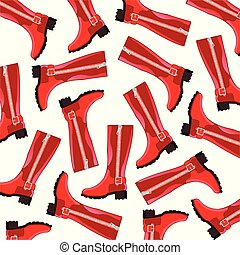 Boots feminine pattern