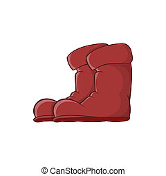 Boots icon, cartoon style