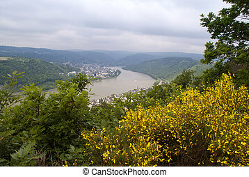 Boppard at the River Rhine