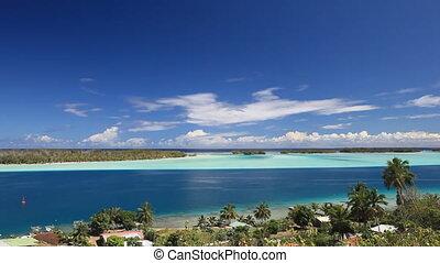 Bora Bora - Lagoon in French Polynesia