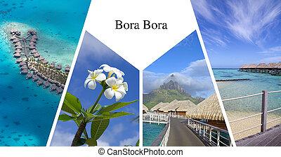 Bora Bora presentation card