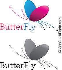 borboleta, emblema