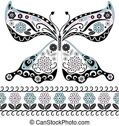 borboleta, vindima