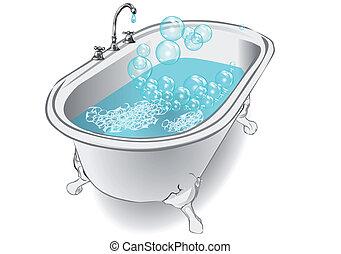 borbulhe banho