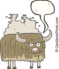 borbulho fala, caricatura, fedorento, vaca