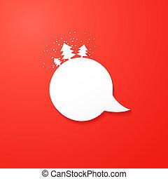 borbulho fala, natal