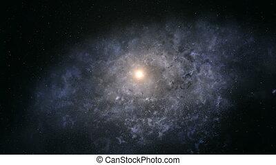bord, galaxie