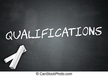 bord, kwalificaties
