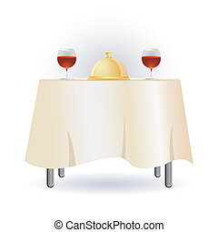 bord, middag