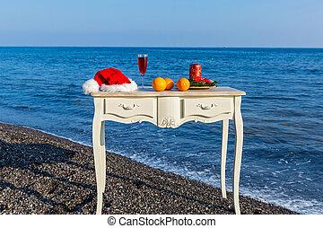 bord, sjösida