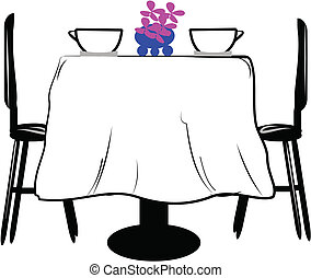 bord, två