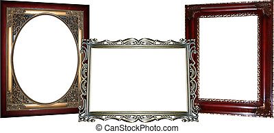 bordas, 3, ornate