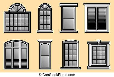bordas, janela