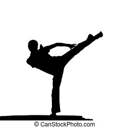 borde, kung fu
