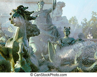 bordeaux, fontana