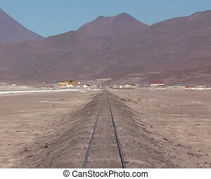 Border between Chile and Bolivia