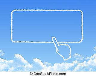 border cloud shape