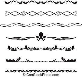 Border decorative set