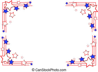 border for july4th