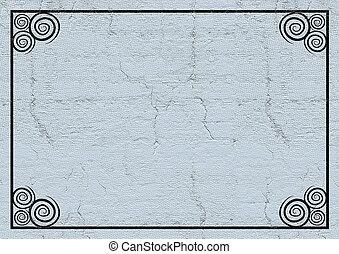 Border frame background