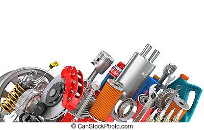 Auto parts Stock Illustration Images. 19,577 Auto parts ...