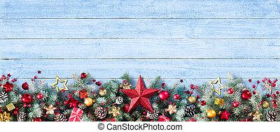 Border Of Christmas Decoration