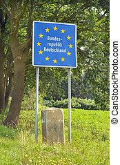 Border of Germany