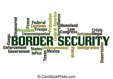 Border Security Word Cloud
