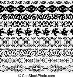 borders for design - Collection of vintage borders for...
