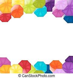 bordo, ombrelli