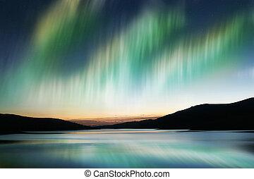 borealis, morgonrodnad