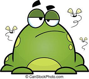 Bored Cartoon Frog