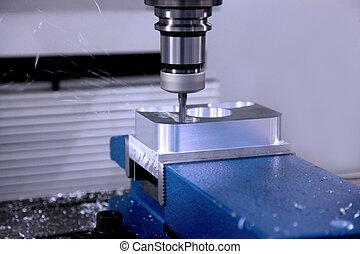 boren, machine, workpiece