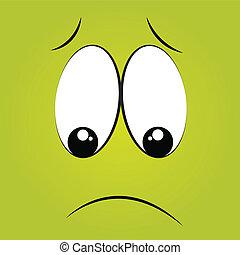 boring face