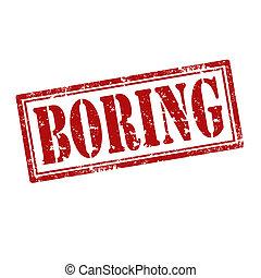 Boring-stamp