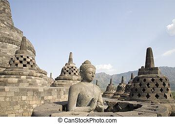 Borobudur 5 - Borobudur, Java, Indonesia