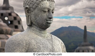 Borobudur Buddha Statue, indonesia