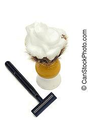 borotválkozás, eszközök