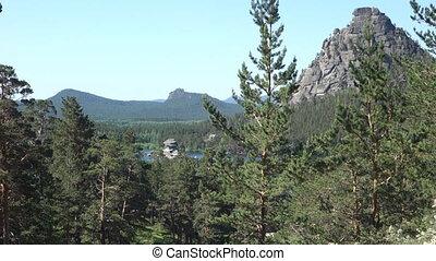 Borovoe Burabay national park in Kazakhstan
