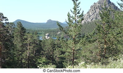 Borovoe Burabay the national park in Kazakhstan