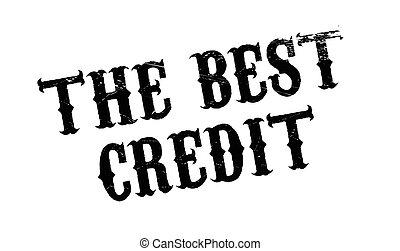 borracha, crédito, melhor, selo