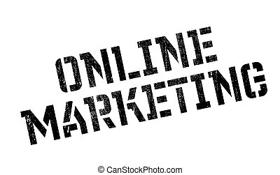 borracha, marketing, online, selo