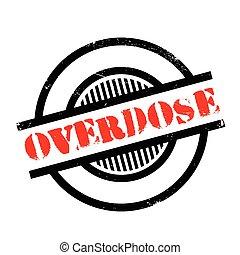 borracha, overdose, selo