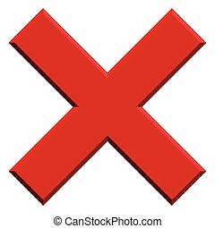 borrar, bisel, prohibir, prohibición, effect., forma, quitar...