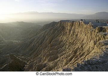 borrego, badlands, canyon