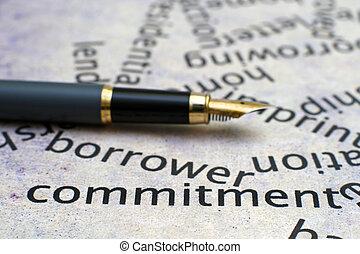 Borrowing concept